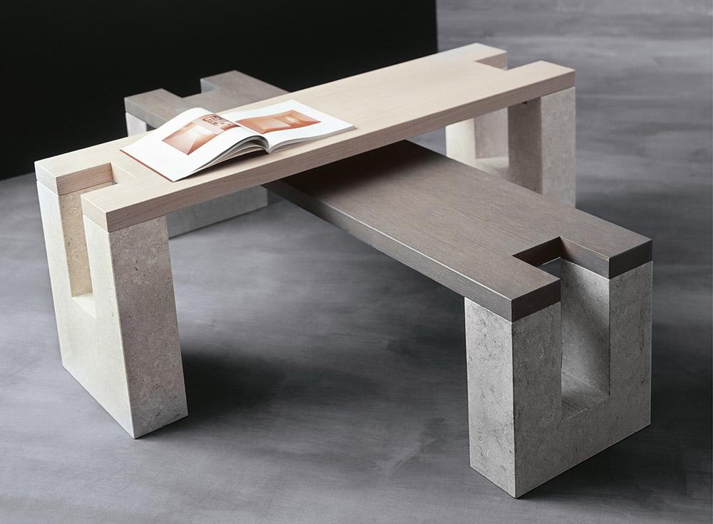 Laboratorio del Marmo - Dolmen-Bench / Table