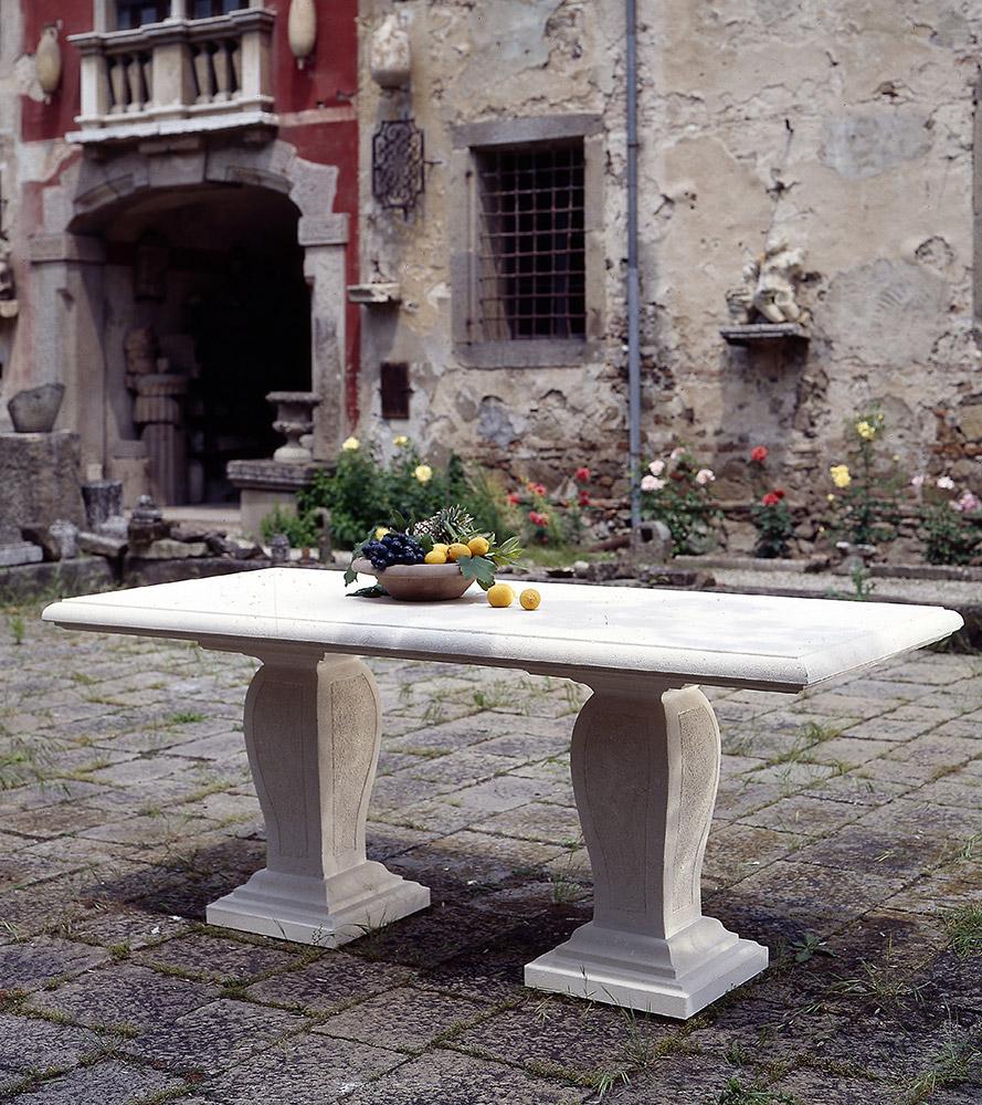 Tavoli Di Pietra Da Giardino.Laboratorio Del Marmo Console Tavolini E Tavoli In Pietra